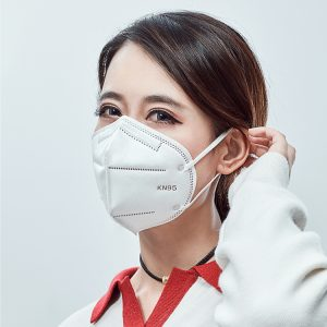n95 หน้ากากอนามัยแบบใช้แล้วทิ้งเพื่อป้องกันหมอกควันป้องกันฝุ่นและหายใจได้อย่างอิสระ