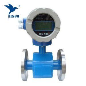การไหลของแม่เหล็กไฟฟ้าเมตรจอแสดงผล led ใช้น้ำบำบัดน้ำเสีย