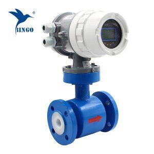 เครื่องวัดการไหลของแม่เหล็กไฟฟ้าสำหรับน้ำเครื่องวัดค่าไฟฟ้าสำหรับน้ำ