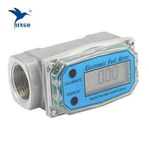 เครื่องวัดการไหลของผลึกเหลวดีเซลเครื่องวัดอัตราการไหลของกังหัน